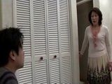 Amazed Mother Kaoru Ayatsuki Busted Her Son Masturbating