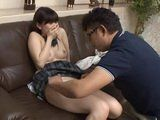 Stepdad Abusing Japanese Schoolgirl After Spying On Her And Her Boyfriend