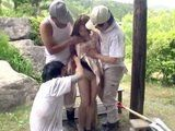 Bored Construction Workers Swoop and Gangbang Unwilling Home Alone Milf Housewife