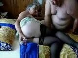 Amateur Grandpa and Granny 69 Pose Fuck
