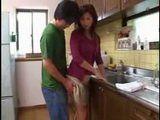 Japanese Mom Gets Her Ass Groped From Pervert Boy