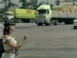 Milf Hitchhiker Pulled Over Wrong Truck This Time