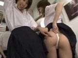 Group Of Naughty Schoolgirls Teasing Too Hard Old Stranger In Subway And Made This Journey Into Fun