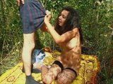 Teenagers Outdoor Fucking And Making Their First Sextape
