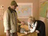 Hot Czech teacher tutors one of her students