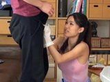Sexy Teen From Cleaning Company Make Sure That Client Be Happy In Every Aspect