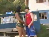 Hot Shemale Soldier Fucks Naughty Boy