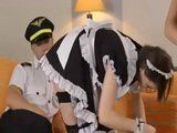 US Pilot Got Lucky With Hotel Maid And 2 Lustful Stewardess