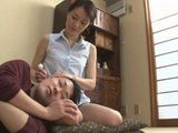 Mother Ayako Inoue Taking Really Good Care About Her Teenage Stepson