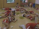 Kinky Coach Uses Time Stop Machine To Play Dirty Games With Sleeping Chherleaders