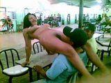 Latinoamerican Striptease Bar Prostitute