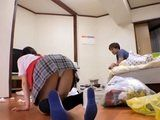 Naughty Teen Maid Is Driving Crazy Her Young Boss CFNM